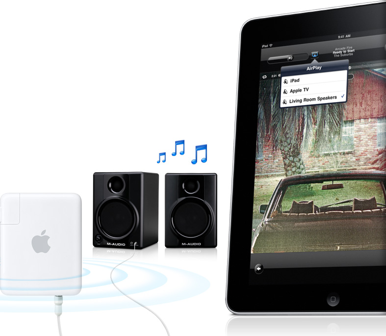 Audio streamen via AirPlay - Apple Support How To Use AirPlay Mirroring from iPad to Apple TV or a Mac iPad